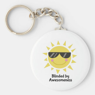 Blinded by Awesomeness Keychains