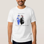 Blindfolded Umpire and Baseball Coach Design T Shirts