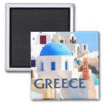 Blinding White Buildings in Greece
