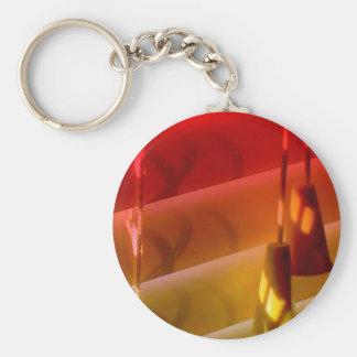 Blinds Basic Round Button Key Ring