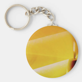 Blinds Basic Round Button Key Ring