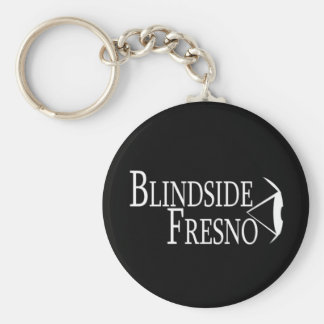 'Blindside Fresno' Basic Round Button Key Ring