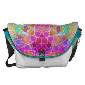 Bling Abstract Pattern Commuter Bag