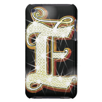 Bling alphabet E Case-Mate iPod Touch Case