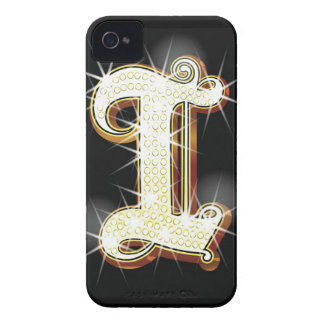Bling alphabet I iPhone 4 Covers