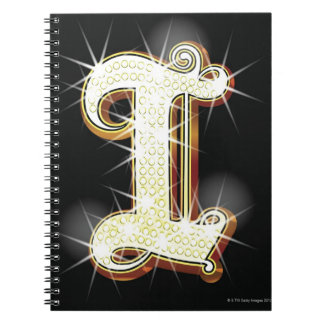 Bling alphabet I Notebook