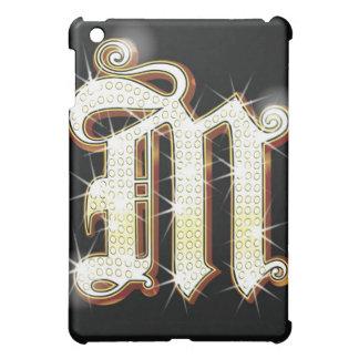 Bling alphabet M iPad Mini Cover