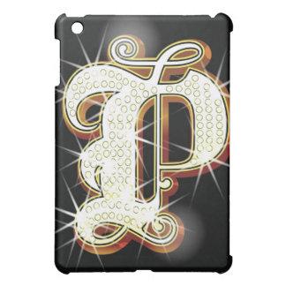 Bling alphabet P iPad Mini Cover