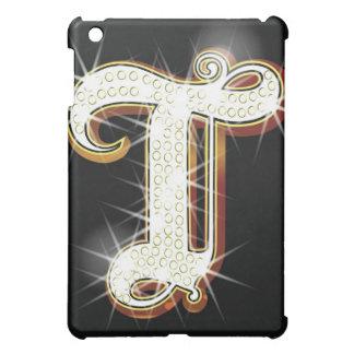 Bling alphabet T iPad Mini Cover