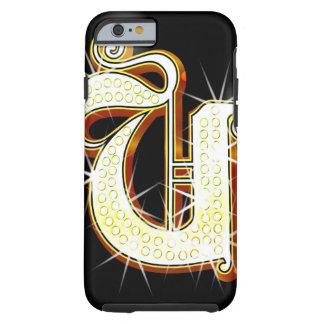 Bling alphabet U Tough iPhone 6 Case