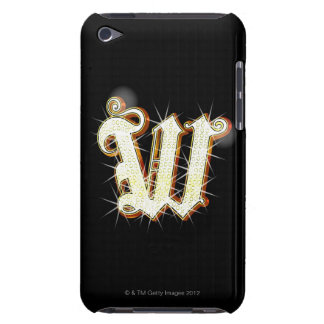 Bling alphabet W iPod Touch Cover