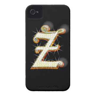 Bling alphabet Z iPhone 4 Case-Mate Cases