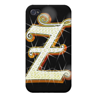 Bling alphabet Z iPhone 4 Covers