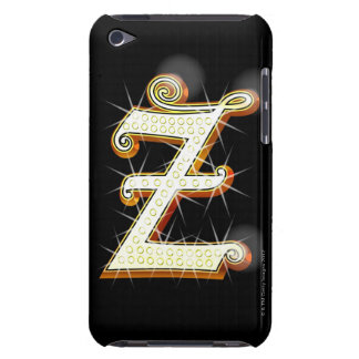 Bling alphabet Z iPod Touch Cases