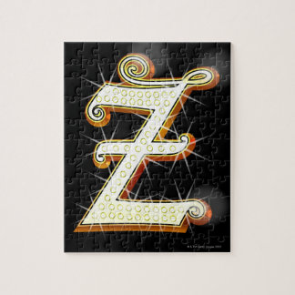 Bling alphabet Z Jigsaw Puzzle