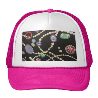 Bling and Pearls Cap