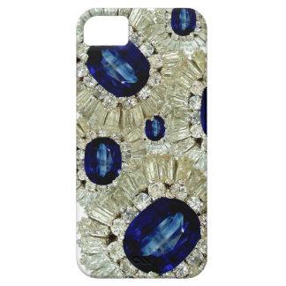 Bling Big Sapphires Diamonds Jewelry Iphone Case