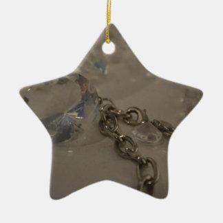 bling bling ceramic star decoration