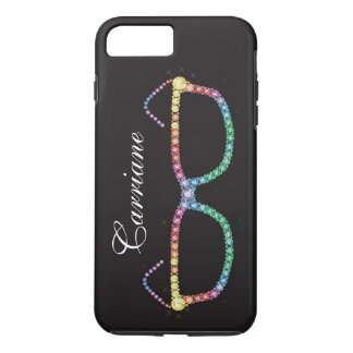 "Bling Bling - Glasses Jewel ""Images"" iPhone 7 Case"