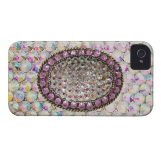 BLING BLING Iridescent Rhinestone IPhone4 Case iPhone 4 Cover