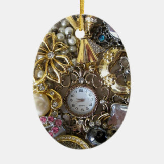 bling bling jewelry collection christmas ornament