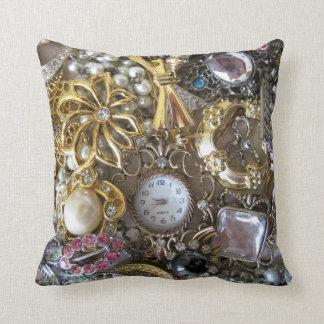 bling bling jewelry collection cushion
