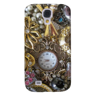 bling bling jewelry collection galaxy s4 case