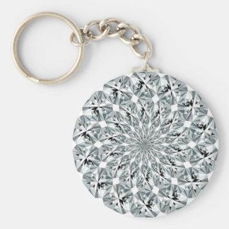 Bling-bling pattern key ring