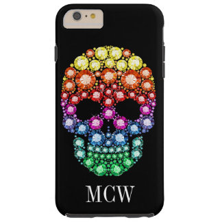 "Bling Bling - Skull Jewel ""Images"" iPhone 6 Case"