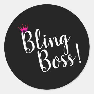 Bling Boss Stickers