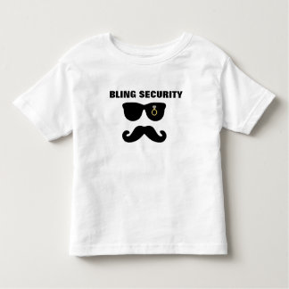 Bling & Bride Security Wedding Shirt
