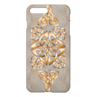Bling Celtic Knot on gray iPhone 8 Plus/7 Plus Case