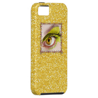 Bling Eye Phone IPHONE5 Case - SRF Case For The iPhone 5