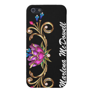 Bling Floral - SRF Case For iPhone 5