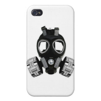 Bling Gas Mask iPhone 4/4S Covers