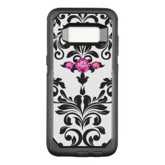 Bling Glitzy Damask OtterBox Commuter Samsung Galaxy S8 Case