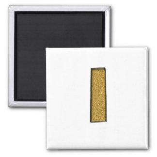 Bling Gold I Refrigerator Magnet