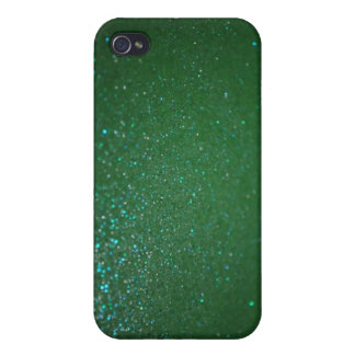 Bling green sparkly crystals iPhone 4S case iPhone 4 Case