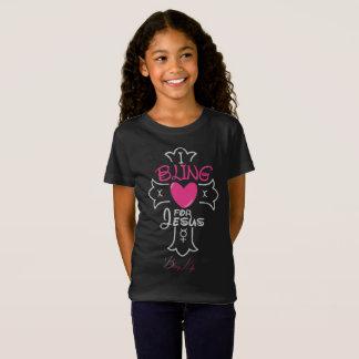 Bling Life Girls I Bling for Jesus Jersey T-Shirt