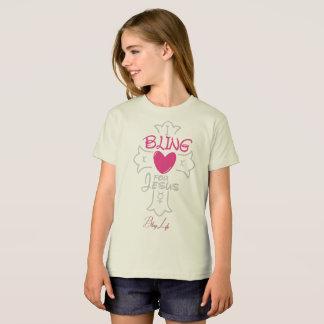 Bling Life I Bling for Jesus Organic T-Shirt