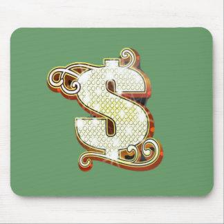 Bling Money Symbol Mousepad