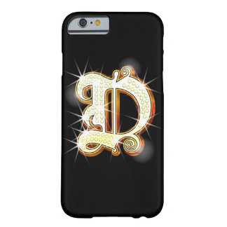 Bling Monogram D iPhone 6 case Barely There iPhone 6 Case