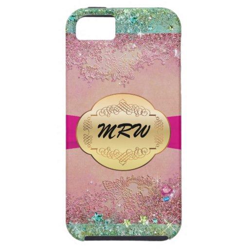 Bling Monogram -  iPhone5 Case - SRF iPhone 5 Covers
