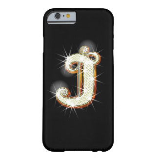 Bling Monogram J iPhone 6 case Barely There iPhone 6 Case