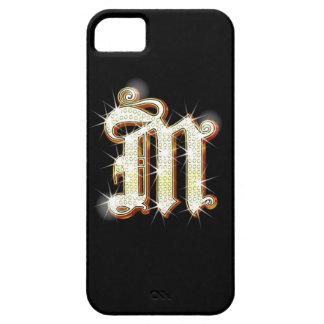 Bling Monogram M iPhone 5 Case
