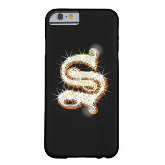 Bling Monogram S iPhone 6 case Barely There iPhone 6 Case