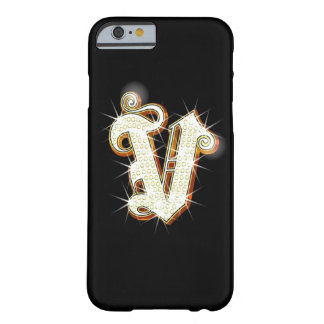 Bling Monogram V iPhone 6 case Barely There iPhone 6 Case
