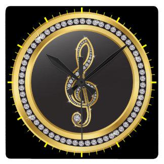 Bling Music Clock - SRF