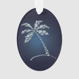 Bling Palm Tree Ornament