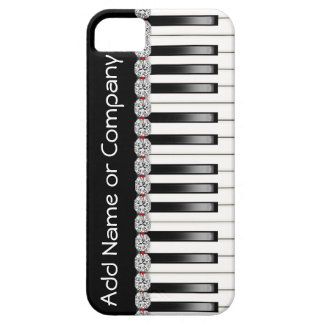 BLING PIANO I Phone 5 Case with  Personalized